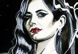 Ava Lord painting by Surbina Psychobilla