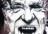 Charles Bukowski painting by Surbina Psychobilla