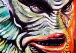 Creature painting by Surbina Psychobilla