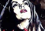 Vampira aka Maila Nurmi 2 painting by Surbina Psychobilla