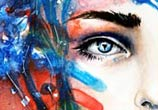 Splash Face painting by Tanya Shatseva
