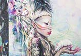 Yolandi The Rat Mistress painting by Tanya Shatseva