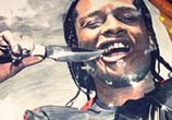 ASAP - Rocky drawing by The Illestrator