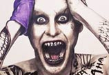 Jared Leto as Joker color drawing by The Illestrator