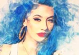 Natasha Lillipore color drawing by The Illestrator