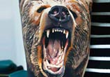 bear tattoo by Timur Lysenko