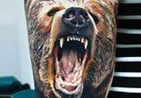 bear tattoo by Timur Lysenko