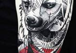 Grizzly tattoo by Timur Lysenko
