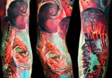 space and see tattoo by Timur Lysenko