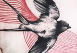 Swallow tattoo by Timur Lysenko