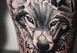 wolf tattoo by Timur Lysenko