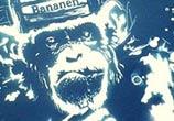 Ape Bananen mixedmedia by Tony Ronnebeck