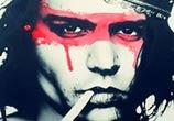Portrait of Johnny Depp by Tony Ronnebeck
