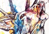Deer watercolor painting by Tori Ratcliffe Art