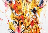 Giraffe by Tori Ratcliffe Art