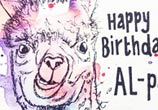 Happy Birthday by Tori Ratcliffe Art