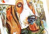 Heidi Dog by Tori Ratcliffe Art