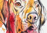 Sidney Dog by Tori Ratcliffe Art