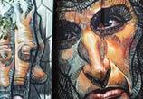 Hope Dies Last streetart by Wild Drawing