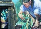 Little dragon mural streetart by Wild Drawing