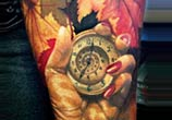 Autumn color tattoo by Zsofia Belteczky