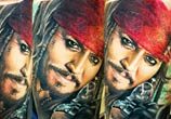 Captain Jack Sparrow tattoo by Zsofia Belteczky