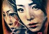 Geisha Japan tattoo by Zsofia Belteczky