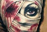 Horror Mummy tattoo by Zsofia Belteczky
