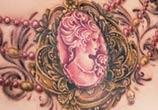 Necklace tattoo by Zsofia Belteczky